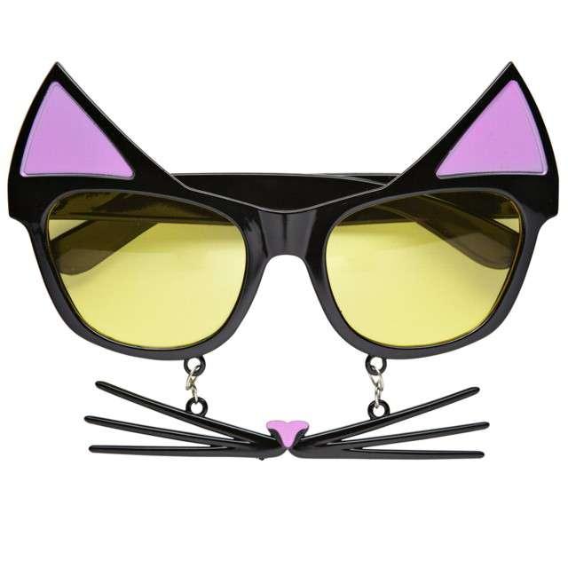 "Okulary party ""Kot z wąsem i uszami"", Widmann"