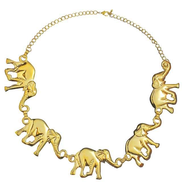 """Naszyjnik """"Słonie ze złota"""", Widmann"""