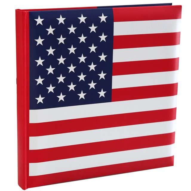 "Księga gości ""USA Party"", Santex, 24 x 24 cm"