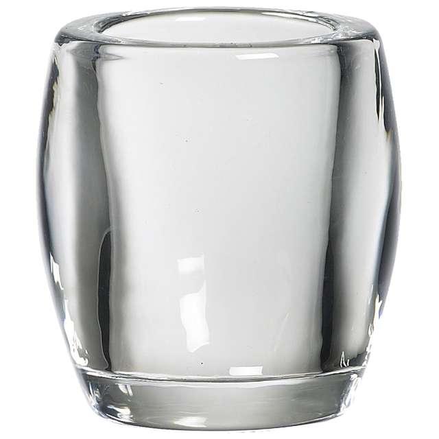 """Świecznik """"Classic Tealight"""", transparentny, Bolsius, 77/72"""