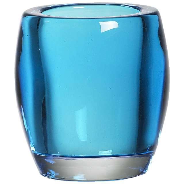 "Świecznik ""Classic Tealight"", niebieski, Bolsius, 77/72"