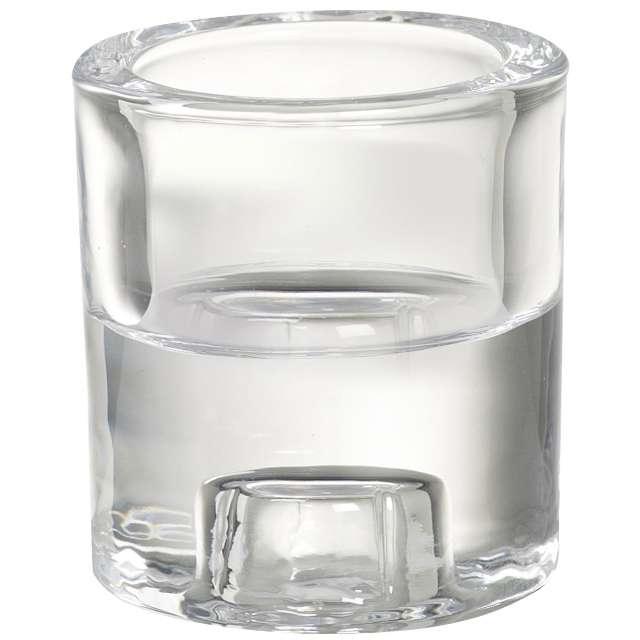 """Świecznik szklany """"2 w 1"""", Bolsius, 65-60"""