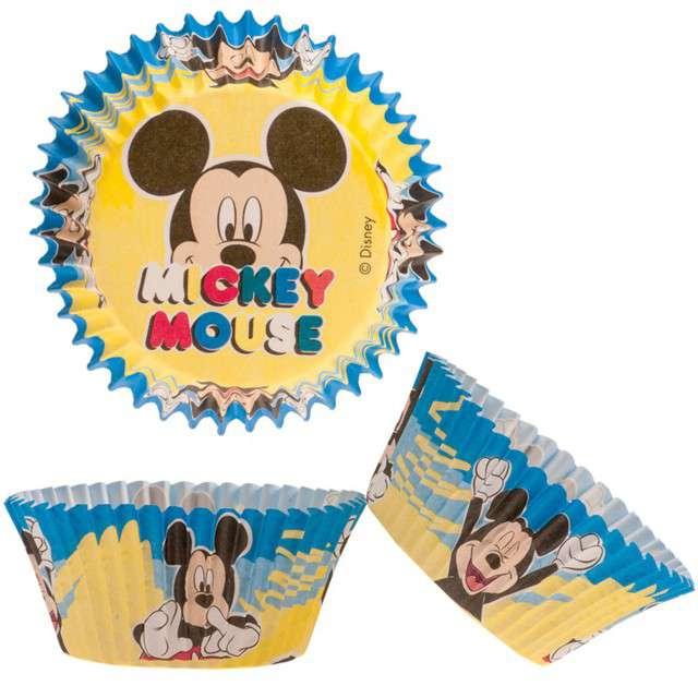"""Foremki na muffinki """"Myszka Mickey"""", Dekora, 50 szt"""