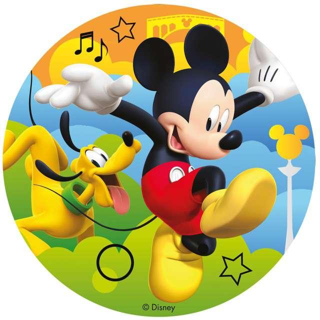 "Dekoracja tortu - opłatek bc ""Mickey"", 16 cm, Dekora"