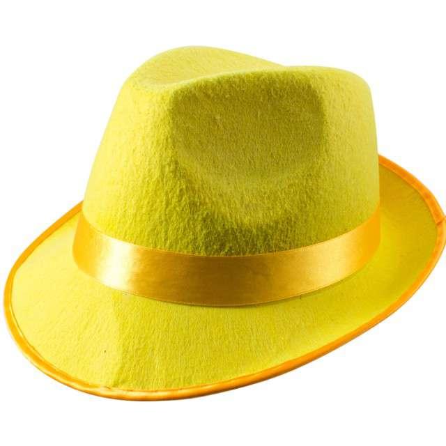 "Kapelusz ""Classic Neon"", żółty, Folat"