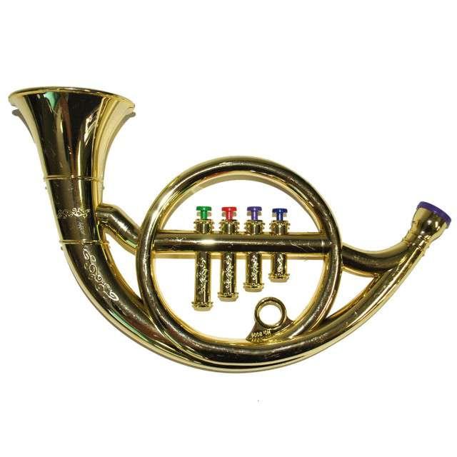 """Instrument """"Róg mini"""" złoty, FunnyFashion"""
