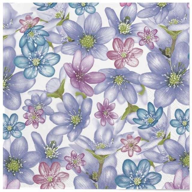 """Serwetki """"Wielkanoc - pastelowe kwiaty"""", Maki, 33 cm, 20 szt"""