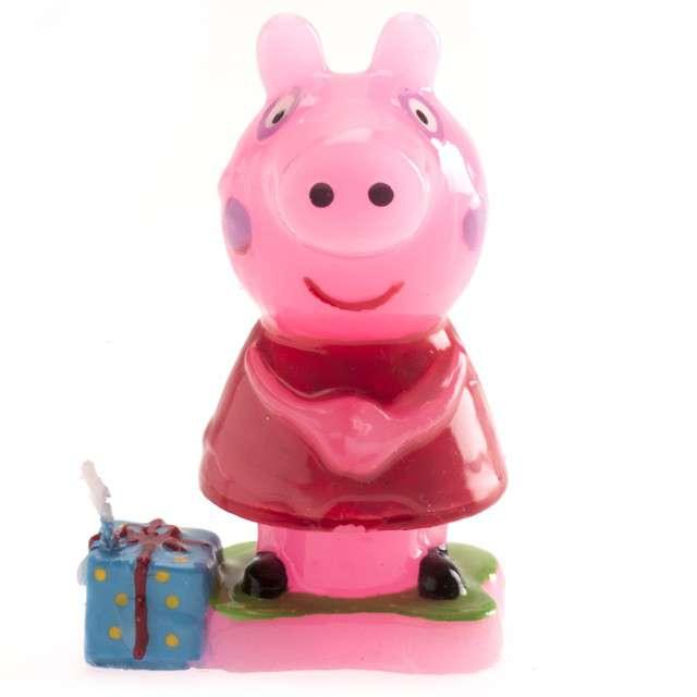 "Świeczka na tort ""Świnka Peppa 3D"", DEKORA, 8 cm"