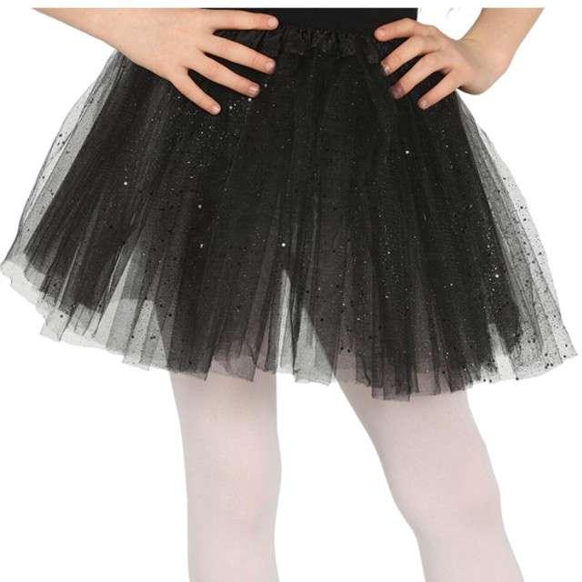 "Spódniczka tutu ""Classic shine"", czarna, Guirca, 31 cm"