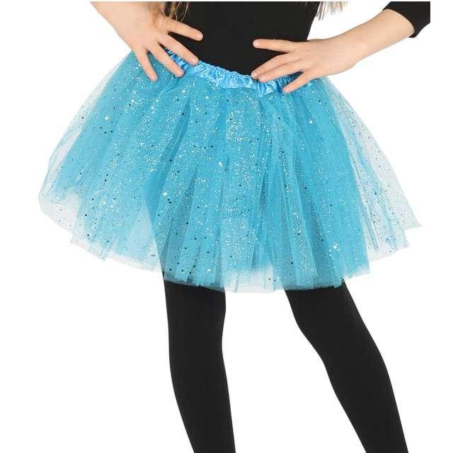 "Spódniczka tutu ""Classic shine"", niebieska, Guirca, 31 cm"