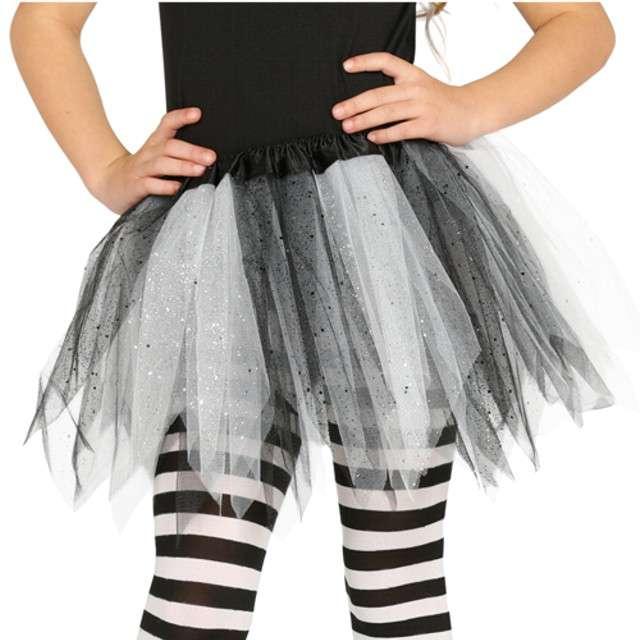 """Spódniczka tutu """"Classic shine"""", biało-czarna, Guirca, 31 cm"""