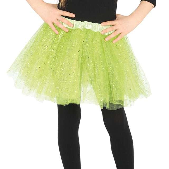 """Spódniczka tutu """"Classic shine"""", zielona, Guirca, 31 cm"""
