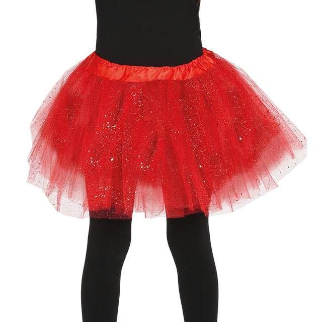 """Spódniczka tutu """"Classic shine"""", czerwona, Guirca, 31 cm"""