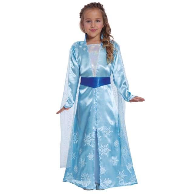 """Strój dla dzieci """"Błękitna Księżniczka"""", Guirca, rozm. 7-9 lat"""