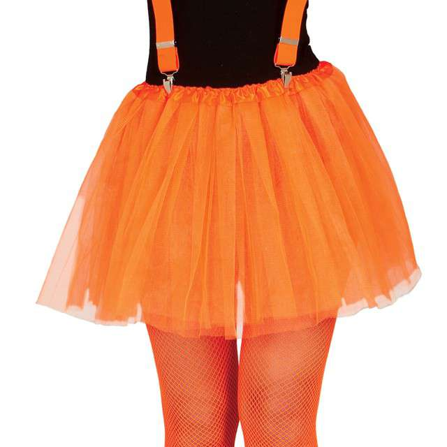 """Spódniczka tutu """"Classic neon"""", pomarańczowe, Guirca, 40 cm"""