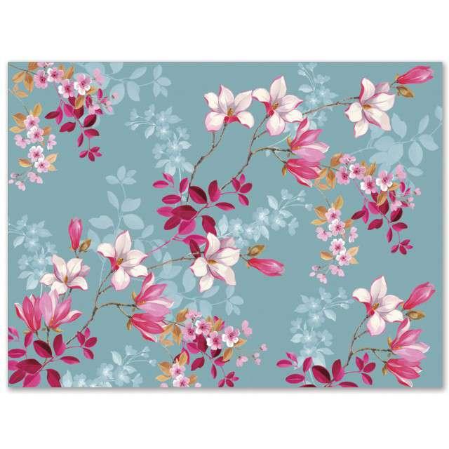 """Papierowa podkładka """"Magnolia"""", PAW, 40x29, 24 szt."""