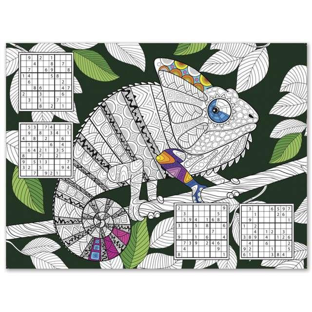 """Papierowa podkładka """"Kameleon"""", PAW, 40x29, 24 szt."""