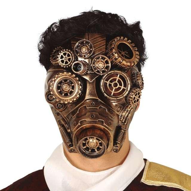"Maska ""Steampunk złoto"", Guirca"