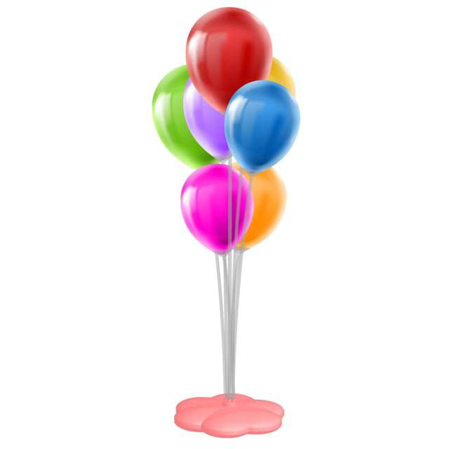 _xx_STAND BALLOON WITH 7 STICKS AND LED STRING LI