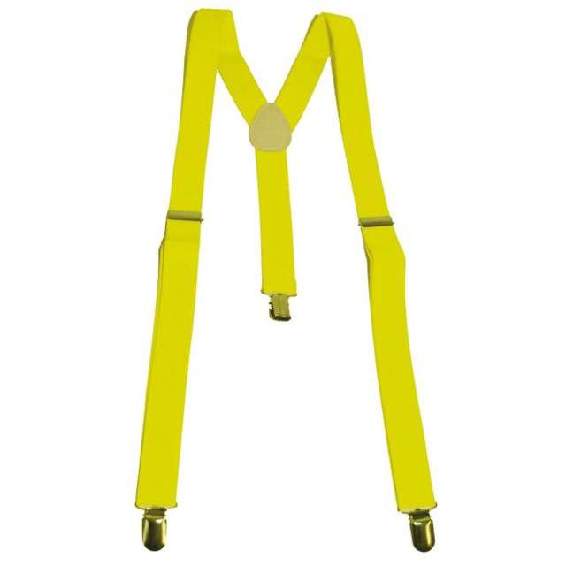 """Szelki """"Fluo"""", żółte, Funny Fashion"""