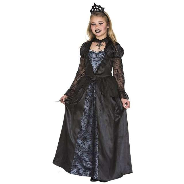 """Strój dla dzieci """"Mroczna Królowa"""", Fyasa, 10-12 lat"""