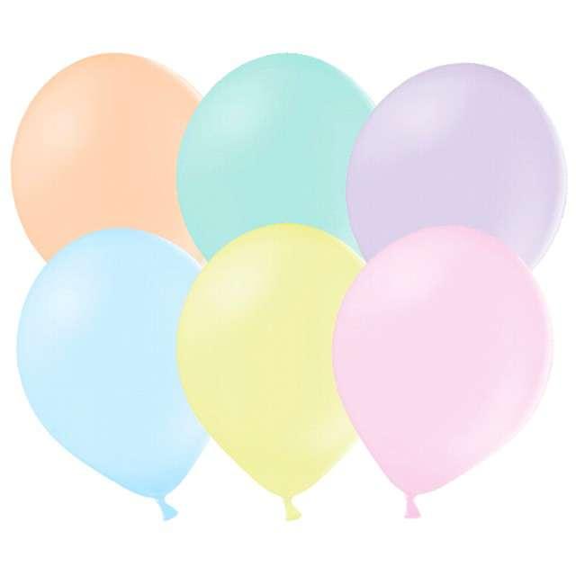 """Balony """"Pastelowe"""", mix, Strong, 27 cm, 10 szt"""