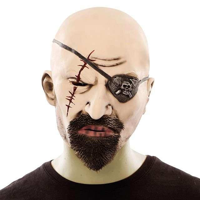 """Maska """"Pirat"""", lateksowa, Fyasa"""