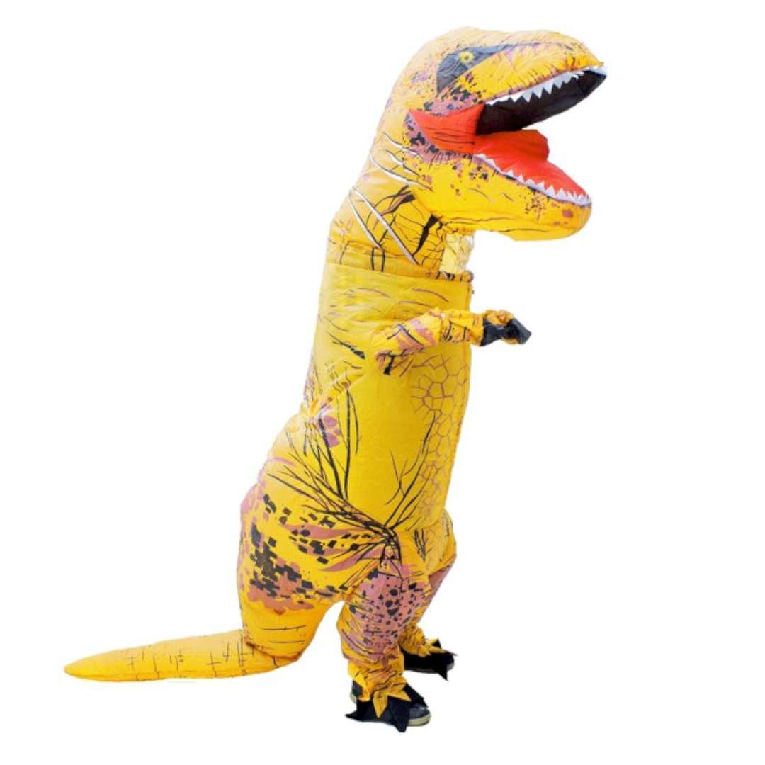 """Strój dla dorosłych """"T-Rex"""", Godan, nadmuchiwany"""