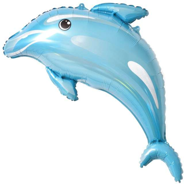 """Balon foliowy """"Delfin"""", Top Ten, 18"""" SHP"""