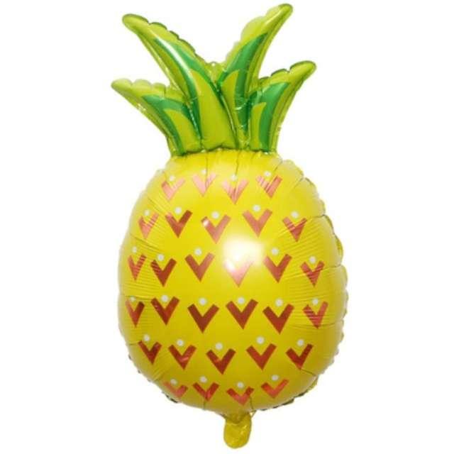 "Balon foliowy ""Ananas"", Jix, 80 cm, SHP"