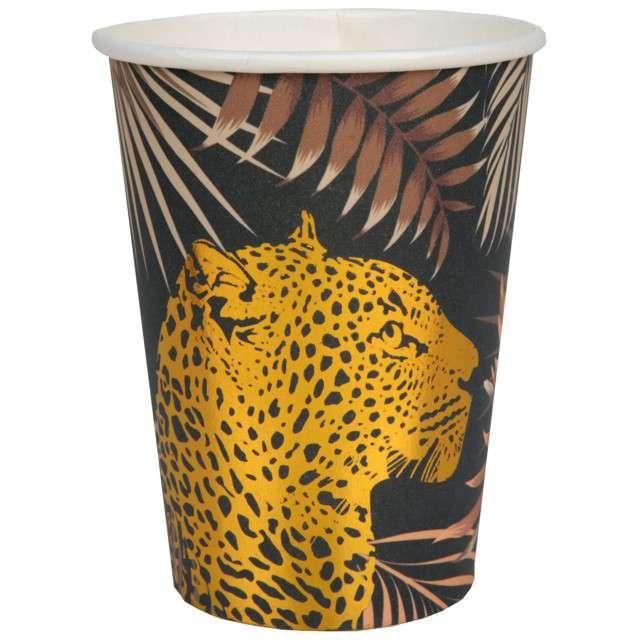 "Kubeczki ""Lampart w dżungli"", Santex, 250 ml, 10 szt"