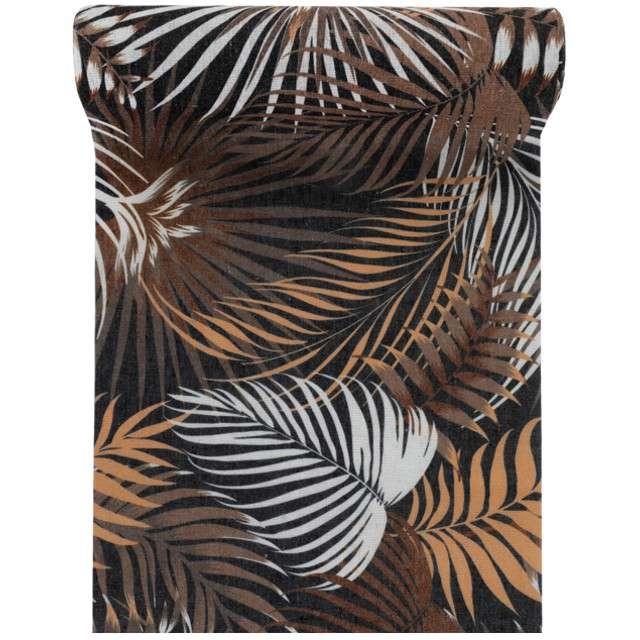 """Bieżnik """"Tropikalne liście"""", Santex, 300 x 30 cm"""