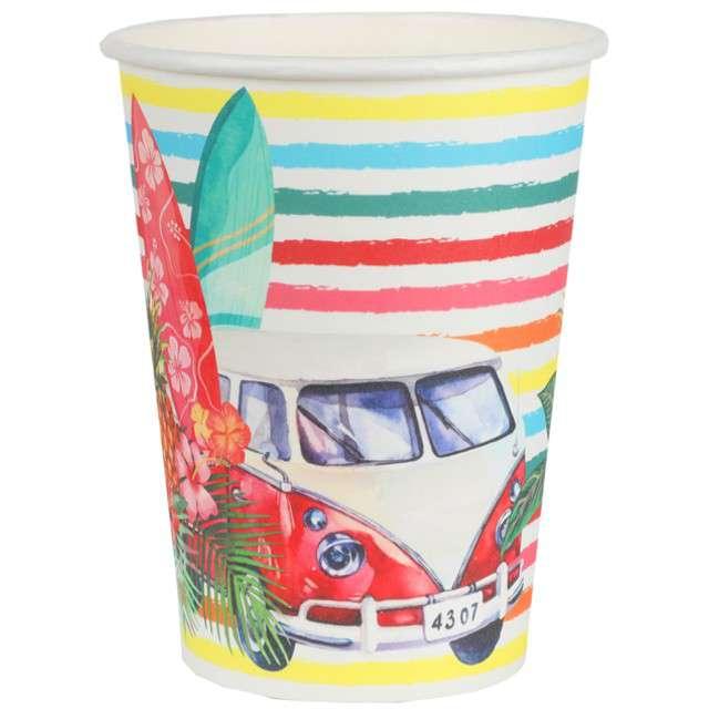 """Kubeczki papierowe """"Aloha"""", Santex, 250 ml, 10 szt"""