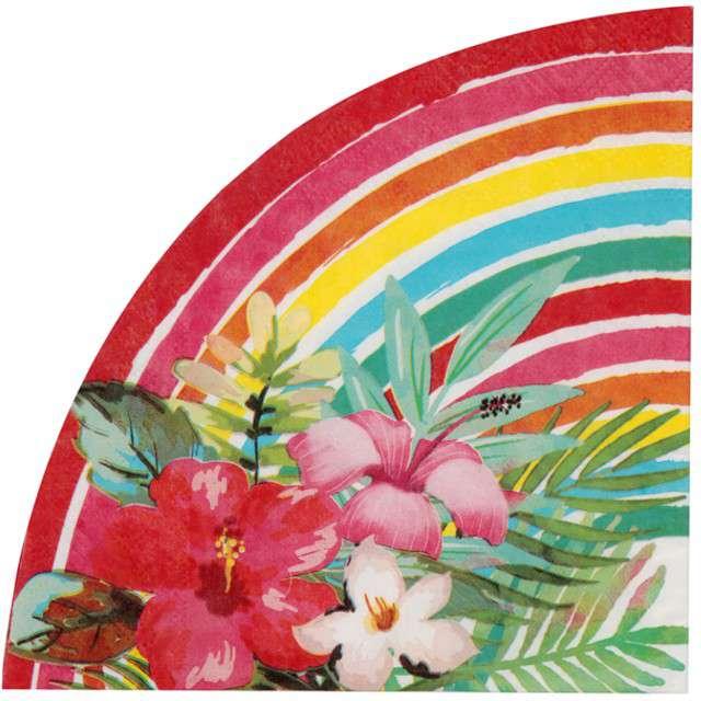 """Serwetki """"Aloha"""", Santex, 33 cm, 20 szt"""