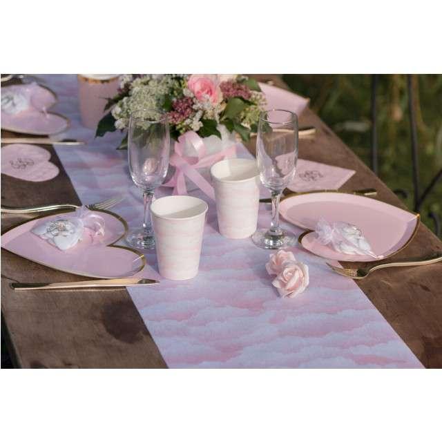 Bieżnik Różowe chmurki Santex 500 x 30 cm