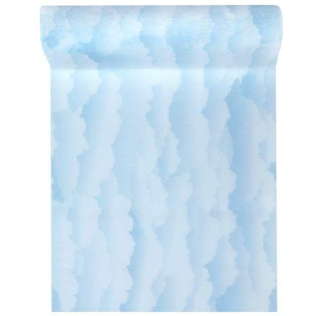 """Bieżnik """"Niebieskie chmurki"""", Santex, 500 x 30 cm"""