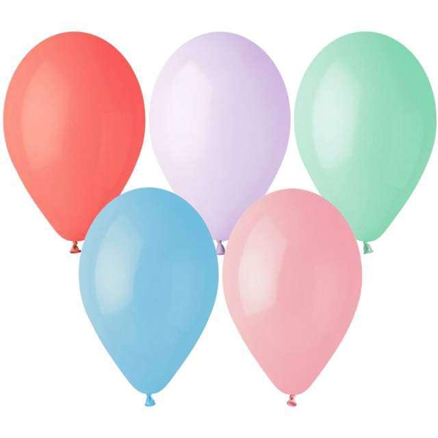 """Balony """"Gemar G90 Pastel"""", mix, 100 szt"""