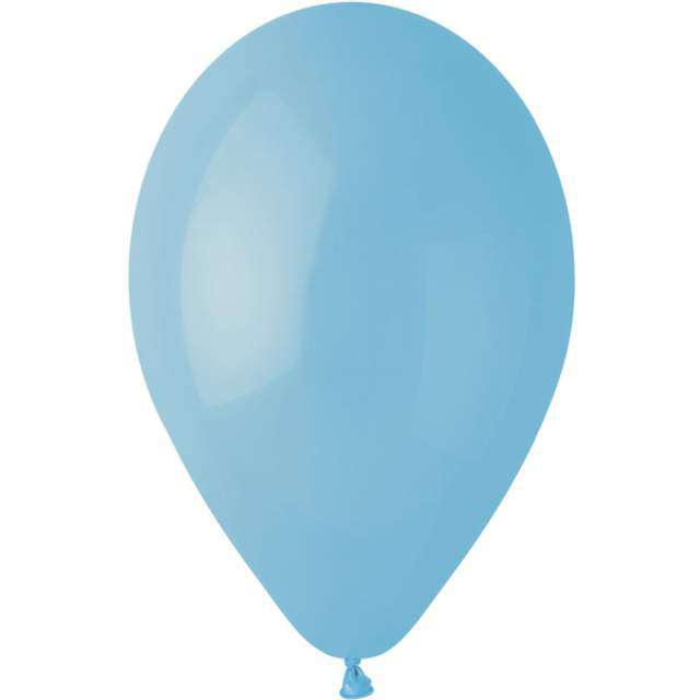 """Balony """"Gemar G90 Pastel"""", niebieskie, 100 szt"""