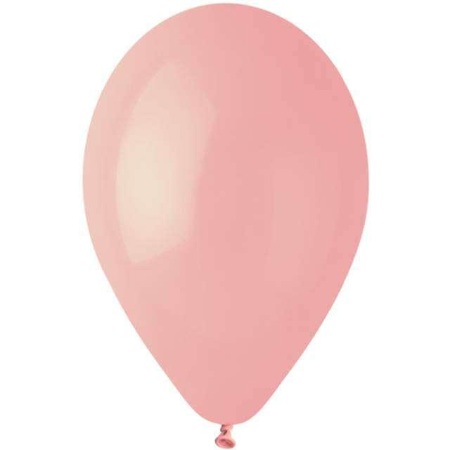 "Balony ""Gemar G90 Pastel"", różowy, 100 szt"