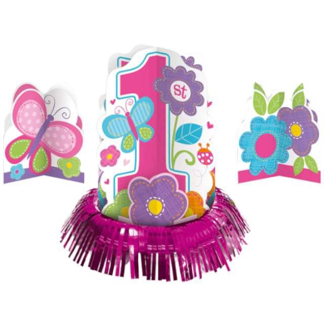 """Dekoracja """"Zestaw na stół - Baby Shower Girl"""", Amscan"""