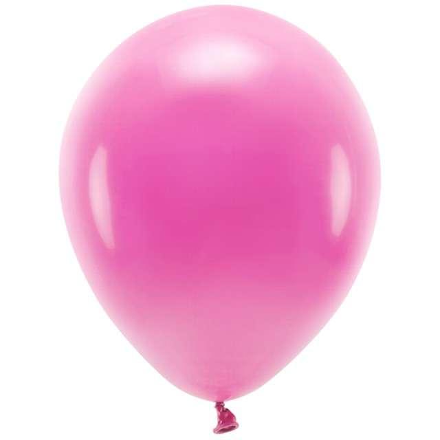 """Balony """"Ekologiczne"""", fuksja, Partydeco, 10"""", 100 szt"""