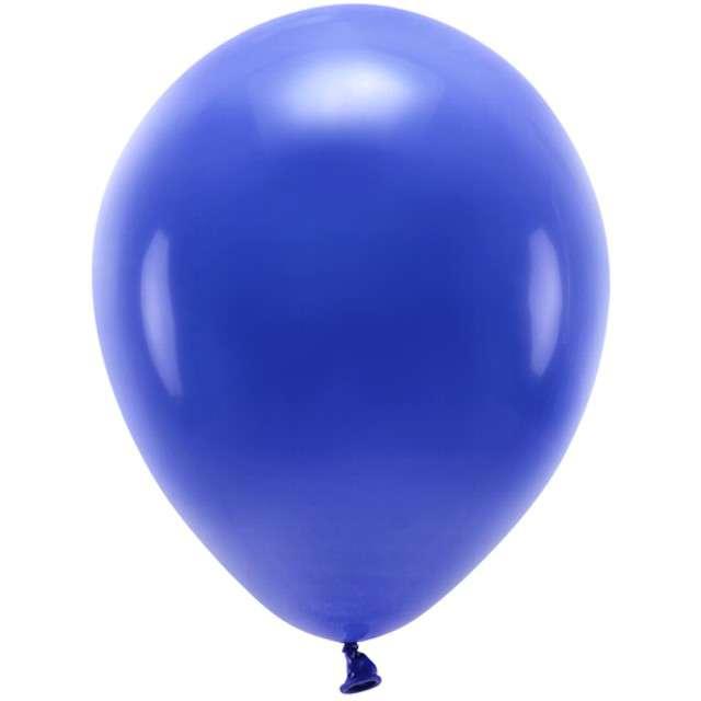 """Balony """"Ekologiczne"""", granatowe, Partydeco, 10"""", 100 szt"""