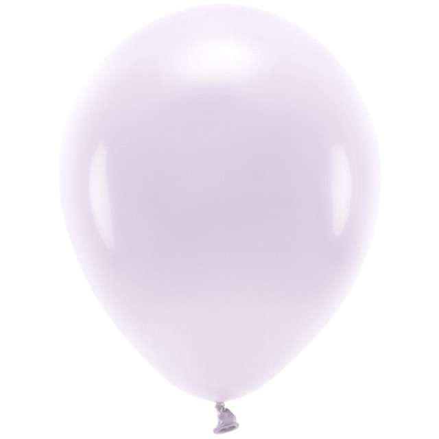 """Balony """"Ekologiczne"""", liliowe, Partydeco, 10"""", 100 szt"""