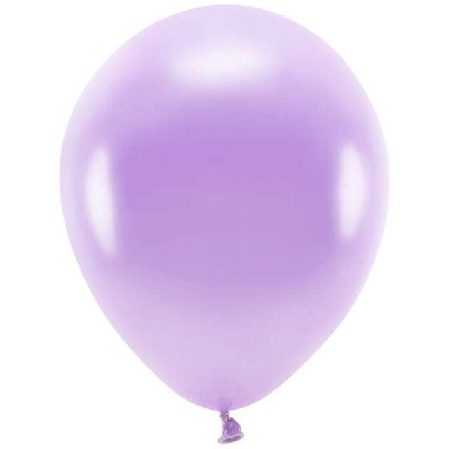 "Balony ""Ekologiczne"", lawendowy metalik, Partydeco, 10"", 100 szt"