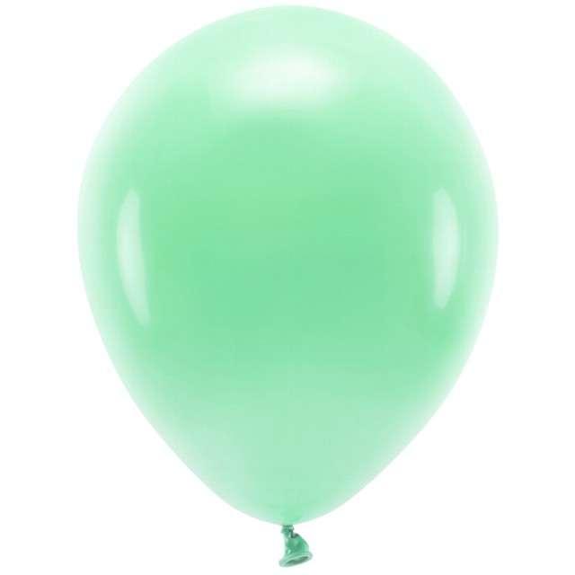 """Balony """"Ekologiczne"""", miętowe, Partydeco, 10"""", 100 szt"""