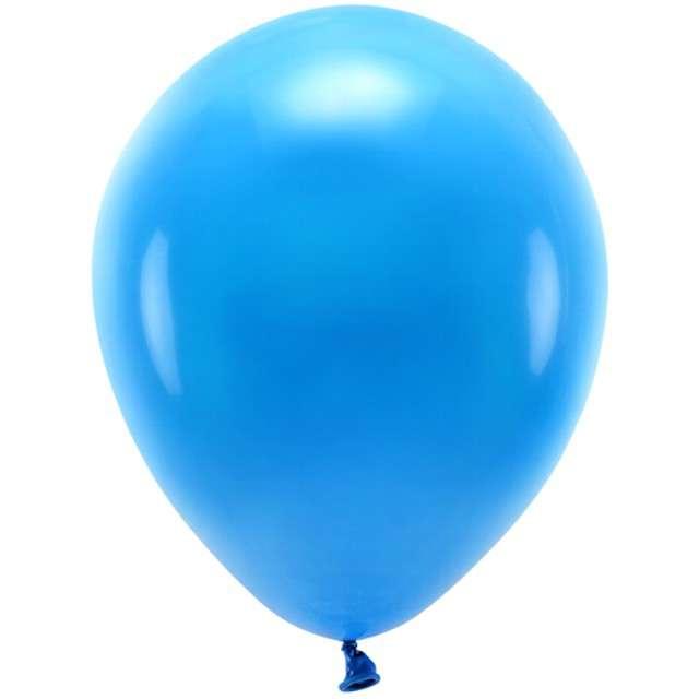 """Balony """"Ekologiczne"""", niebieski, Partydeco, 10"""", 100 szt"""