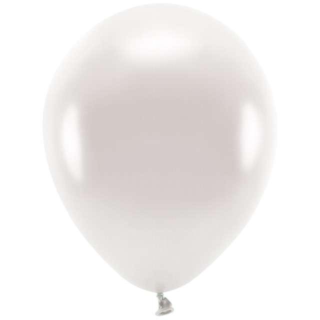 """Balony """"Ekologiczne"""", perłowy metalik, Partydeco, 10"""", 100 szt"""