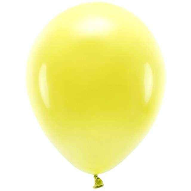 "Balony ""Ekologiczne"", żółte, Partydeco, 10"", 100 szt"