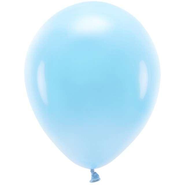 """Balony """"Ekologiczne"""", błękitne, Partydeco, 12"""", 100 szt"""