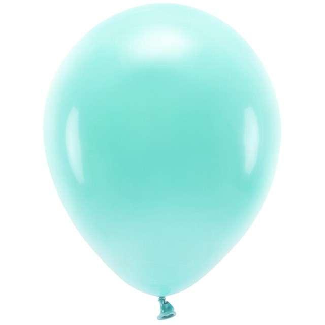 """Balony """"Ekologiczne"""", miętowe, Partydeco, 12"""", 100 szt"""